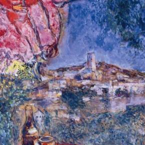marc chagall from vitebsk to saint paul de vence saint